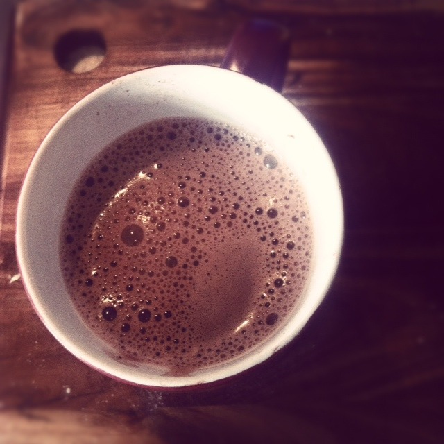 Soya hot chocolate. Better than all the other hot chocolates.
